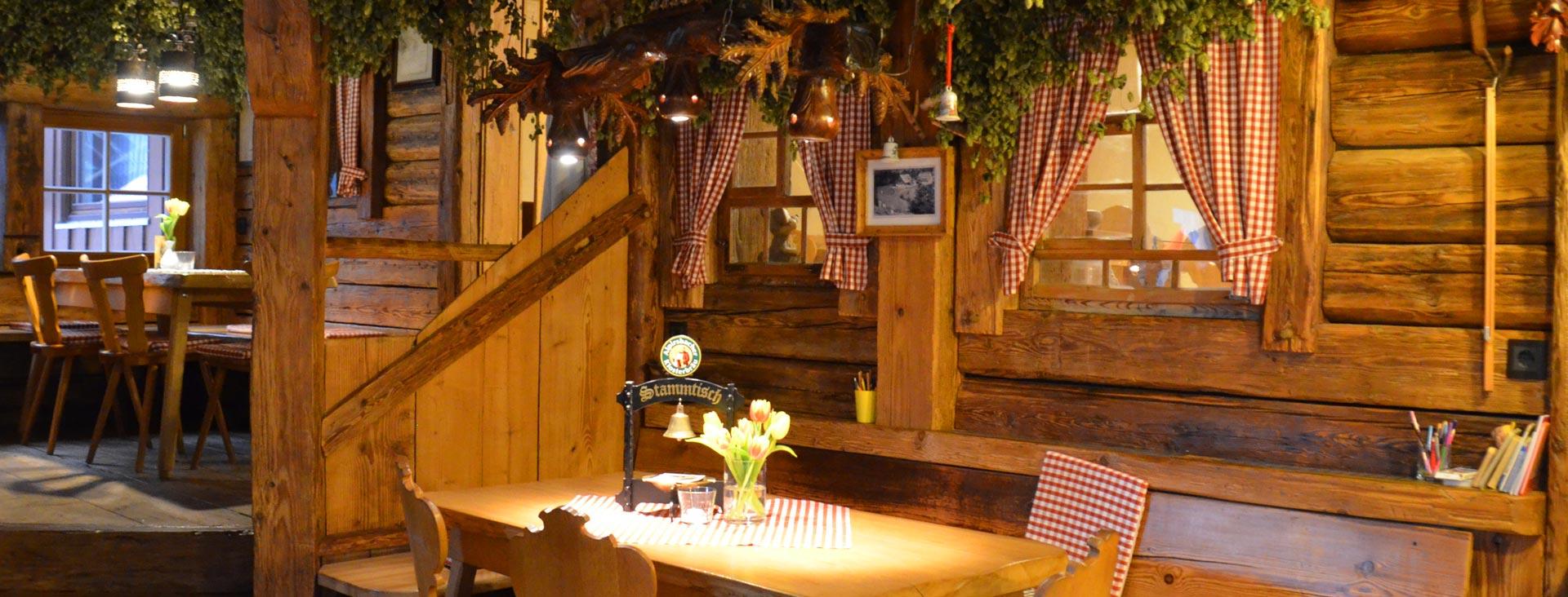 Stammtisch in der Unteren Mühle in Alpirsbach